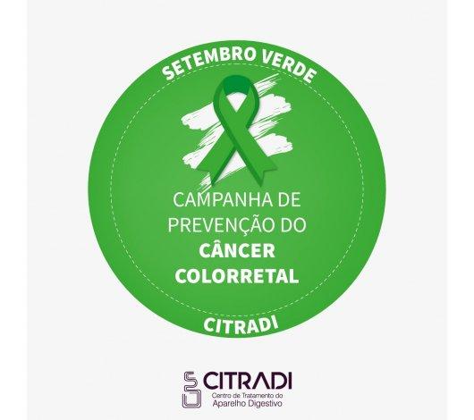 Setembro Verde alerta para o câncer colorretal